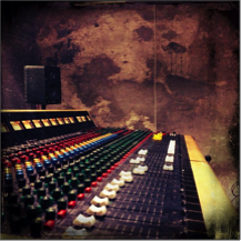 Trident mixing console